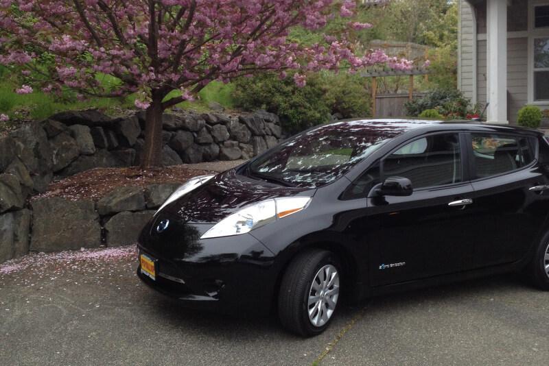 2013 Nissan Leaf at bizmktg.com